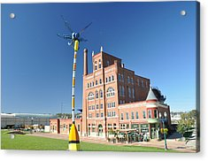 Dubuque Star Brewery With Fly Acrylic Print