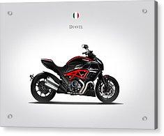 Ducati Diavel Acrylic Print