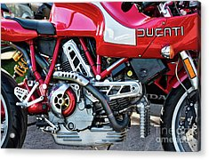 Acrylic Print featuring the photograph Ducati Mh900 Evoluzione by Tim Gainey