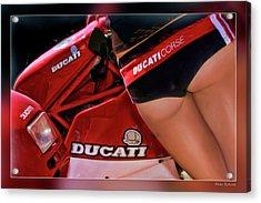 Ducati Model Acrylic Print