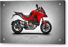 Ducati Multistrada Acrylic Print by Mark Rogan