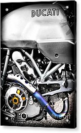 Ducati Ps1000le Engine Acrylic Print