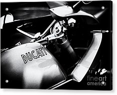 Ducati Ps1000le Monochrome Acrylic Print by Tim Gainey
