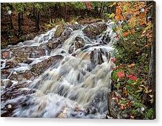 Duchesnay Falls Acrylic Print by Brian Boudreau