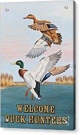 Duck Hunters-jp2817 Acrylic Print