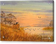 Duck Hunting Calls Acrylic Print