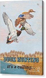 Duck Hunting-jp2818 Acrylic Print