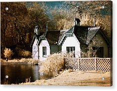 Duck Island Cottage Acrylic Print