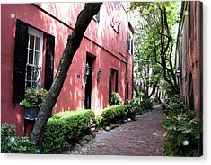 Dueler's Alley Acrylic Print