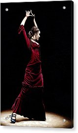 Duende Acrylic Print by Richard Young