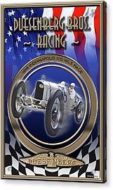 Duesenberg Bros. Racing Acrylic Print