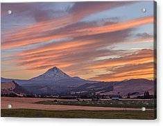 Acrylic Print featuring the photograph Dufur Views by Patricia Davidson