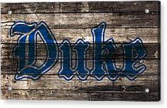 Duke Blue Devils 5d Acrylic Print