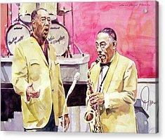Duke Ellington And Johnny Hodges Acrylic Print