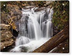 Acrylic Print featuring the photograph Dukes Creek Falls by Michael Sussman