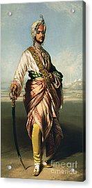 Duleep Singh, Maharajah Of Lahore Acrylic Print by Franz Xaver Winterhalter