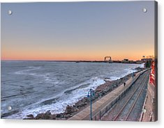 Duluth Sunset  Acrylic Print by Shane Mossman