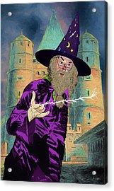 Dumbledore Acrylic Print