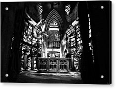 Dumbledores Study Acrylic Print by David Lee Thompson