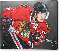 Duncan Keith Acrylic Print by Brian Schuster