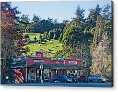 Acrylic Print featuring the photograph Duncan Mills by Kim Wilson