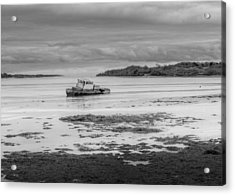 Dundrum The Old Boat Wreck Acrylic Print