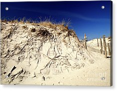Acrylic Print featuring the photograph Dune Heights by John Rizzuto