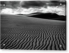 Acrylic Print featuring the photograph Dune Lines by Stephen Holst
