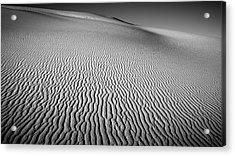 Dune Patterns Acrylic Print by Joseph Smith