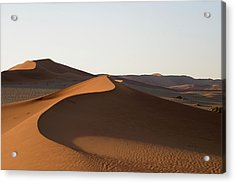 Acrylic Print featuring the photograph Dune Shapes by Riana Van Staden