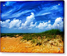 Dunes At Bald Head Island Acrylic Print