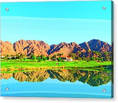 Dunes Course Acrylic Print