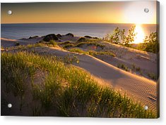 Dunes Acrylic Print by Jason Naudi Photography