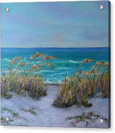 Dunes Path Ocean Painting Part 1 Acrylic Print