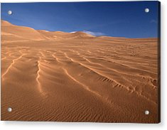 Acrylic Print featuring the photograph Dunes Reward.. by Al Swasey