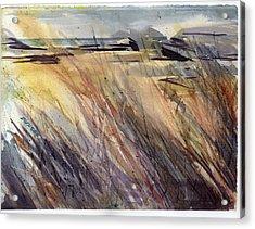 Dunescape Setting Acrylic Print
