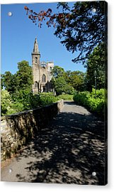 Acrylic Print featuring the photograph Dunfermline Abbey by Jeremy Lavender Photography