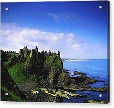 Dunluce Castle, Co Antrim, Irish, 13th Acrylic Print