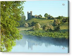 Dunmoe Castle -co Meath Ireland Acrylic Print