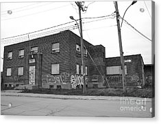 Dunn Street Montreal Acrylic Print by Reb Frost