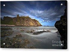Dunnottar Castle Acrylic Print by Roddy Atkinson