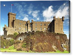Acrylic Print featuring the photograph Dunvegan Castle by Grant Glendinning