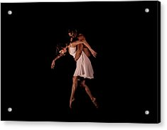 Duo In The Black Box Acrylic Print