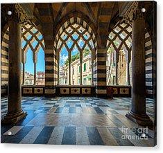 Duomo Di Amalfi Acrylic Print