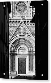 Duomo I Acrylic Print by Artecco Fine Art Photography