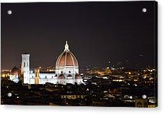 Duomo Illuminated Acrylic Print