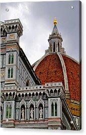 Duomo Acrylic Print by Lynn Andrews