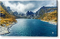 Acrylic Print featuring the photograph Dupfjorden by James Billings