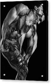 Duplicity Acrylic Print by Thomas Mitchell