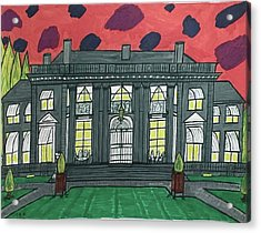 Dupont Family Mansion. Acrylic Print